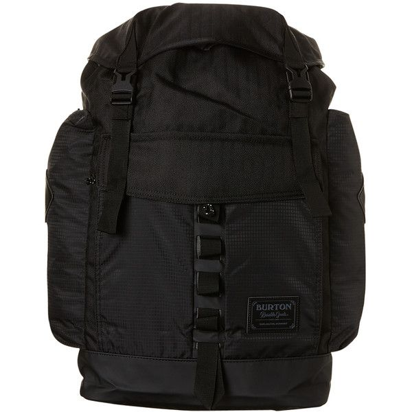 Burton Fathom 44l Backpack Black ($110) ❤ liked on Polyvore featuring men's fashion, men's bags, men's backpacks, backpacks, bags, black, men, mens one strap backpack and mens backpack