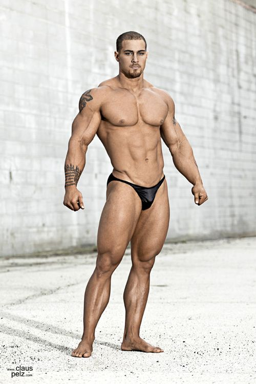 Caleb Blanchard by Claus Pelz | Bodybuilders | Pinterest