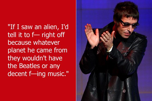 liam gallagher funny quotes - Google Search