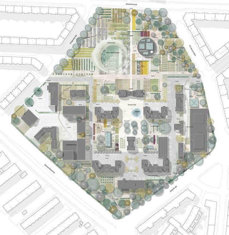 GHB Landskabsarkitekter - SPARK - bypark med klimatilpasning