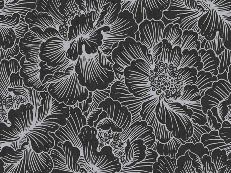 Black Wallpaper Uk 2015 Grasscloth Wallpaper Floral