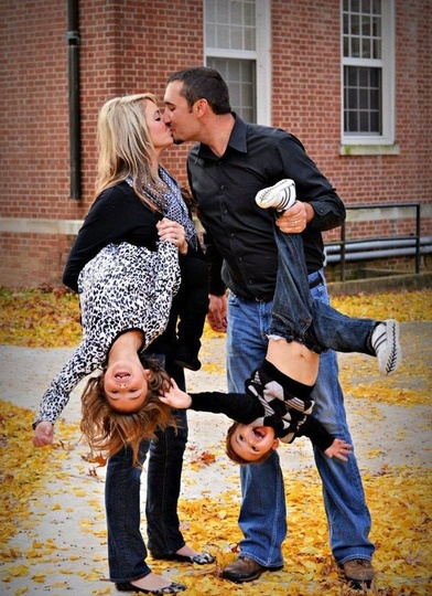 Cute family portraits… problem is… I cant lift my kids anymore. On the other…