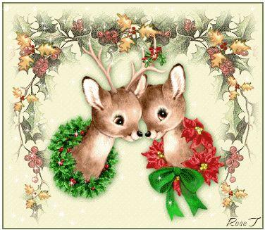 animated baby | Baby Reindeer's Animated - Christmas Photo (9058647) - Fanpop fanclubs