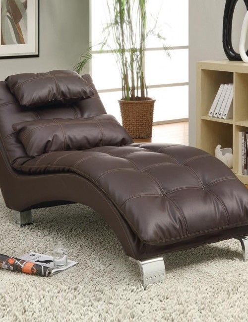 chaise lounge sofa leder. Black Bedroom Furniture Sets. Home Design Ideas