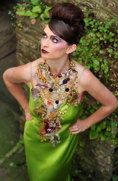 Jan Knibbs | Gallery | Autumn / Flora - image by Jack Willingham - modelled by Lara Lockwood