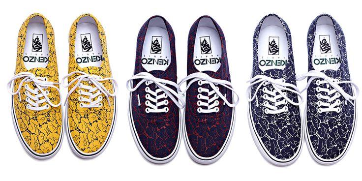 Kenzo Vans. Want.