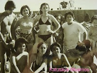 Kaluskos Musmos. (Cast included young Maricel Soriano {as Jaclyn Pusit}, Maila Gumila {as 'boba' Mercedes de Brazo}, Herbert Bautista, and Dranreb among others. We all had a crush on Dranreb- this was way before he became weird in That's Entertainment.)
