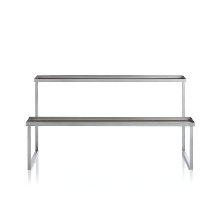 Pewter Fireplace Candelabra  | Crate and Barrel                                                                                                                                                     More