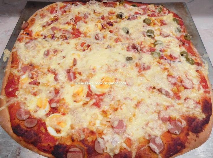 teller-cook: Pizza - a mi kedvenc receptünkkel
