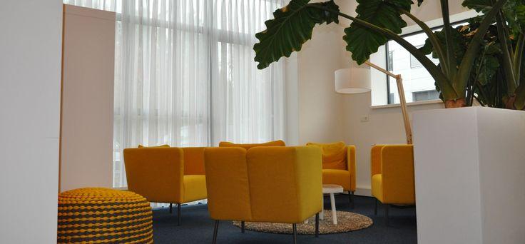 Foto van eerder geleverd interieurplan, Huiskamerkantoor te Reeuwijk