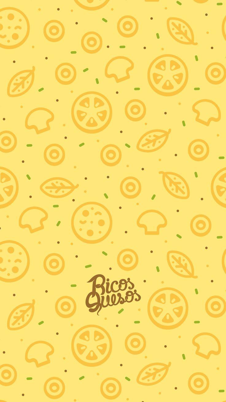 Ricosquesos pizza pattern iphone 2