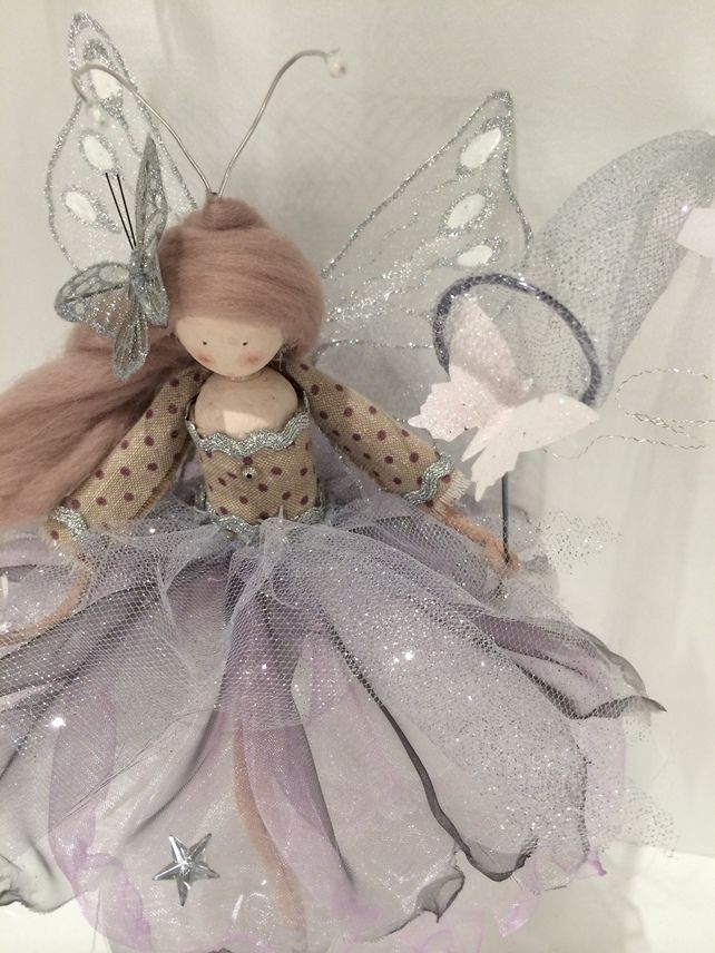 Perching Fairy Doll - The Butterfly Dust Collector £55.00