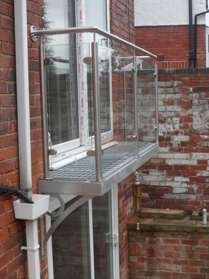 juliette balcony step out glass - Google Search