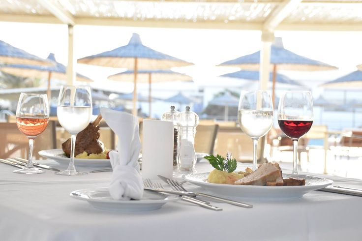 The a-la-carte restaurant of Creta Beach Hotel & Bungalows is the absolute dining destination!