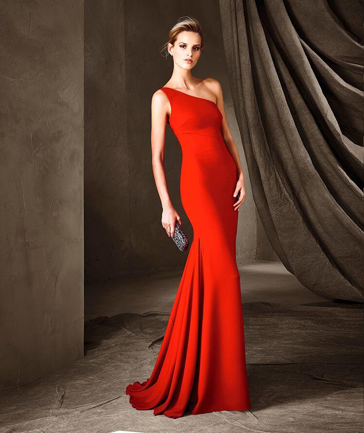 CIRINEA - Vestido de fiesta con estilo sirena Pronovias