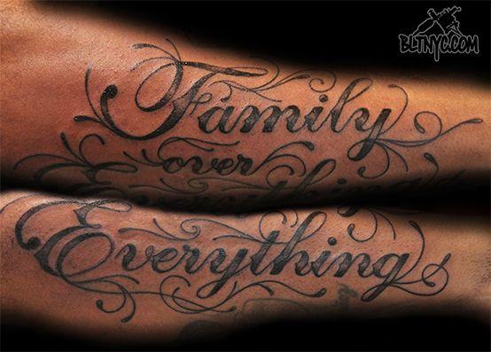 Essay love family tattoos