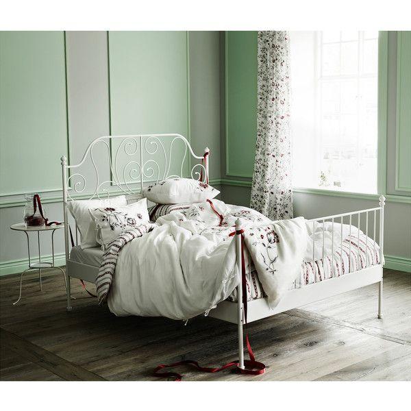 Die besten 25+ Leirvik bett Ideen auf Pinterest Ikea leirvik - schlafzimmer landhausstil ikea