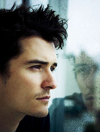 Orlando Bloom. I was definitely obsessed when I was younger. And maybe still am a bit
