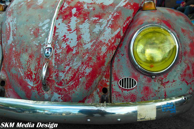 Weathered look, Heart at core. #VW #Beetle #ratrod #vwbug #vwbeetle  #volkswagen #hotrod #ratlook #classic #retro #oldschool #aircooled #rustylove #photoofday #skmmediadesign