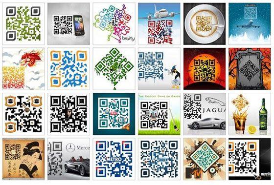 Creative QR Codes on display!