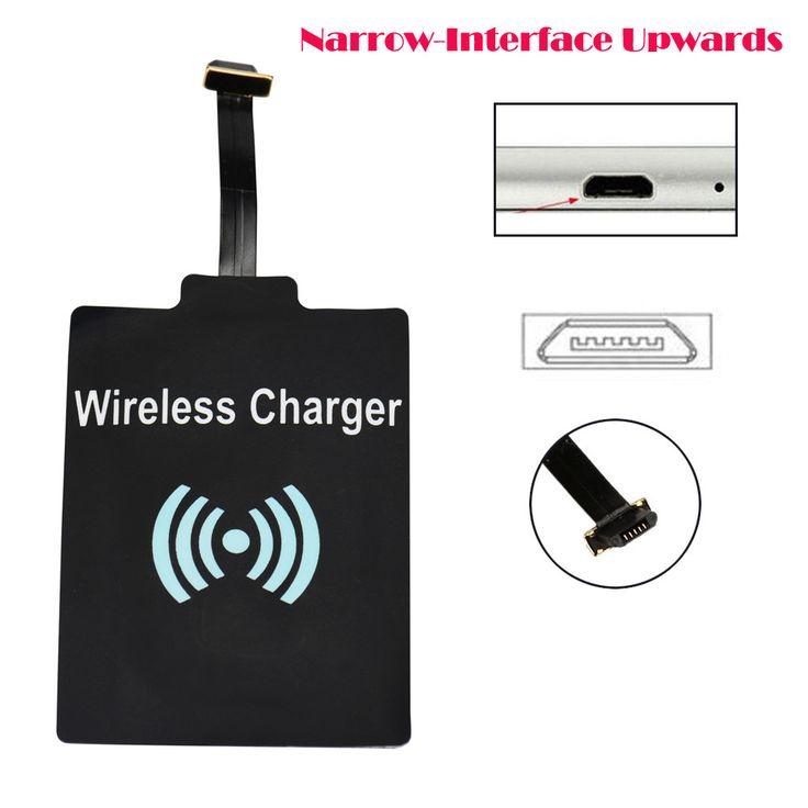 Sannysis módulo cargador universal de carga inalámbrica qi receptor para micro usb del teléfono móvil para samsung