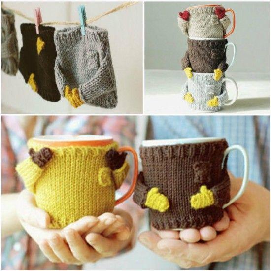 Mug Sweaters Free Pattern