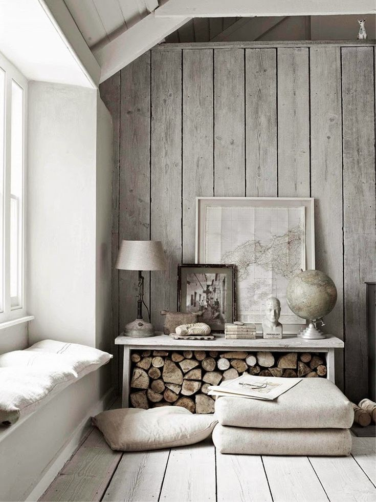 This would be a perfect retreat for weekends with family. I love the rustic texture throughout! Happiest of Fridays to you! images via If you would like help