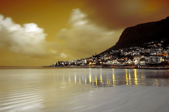 Sharks and no bottle store - got to love Fish Hoek in Cape Town, South Africa
