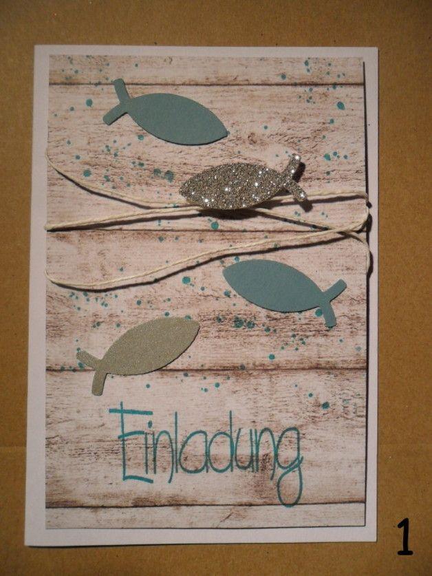 Eine schöne Einladungskarte für einen besonderen Tag....  Die Karte in weiß, der Hintergrund in Holzoptik - alles andere kann farblich ganz individuell kombiniert werden. Mit Punkte oder ohne,...