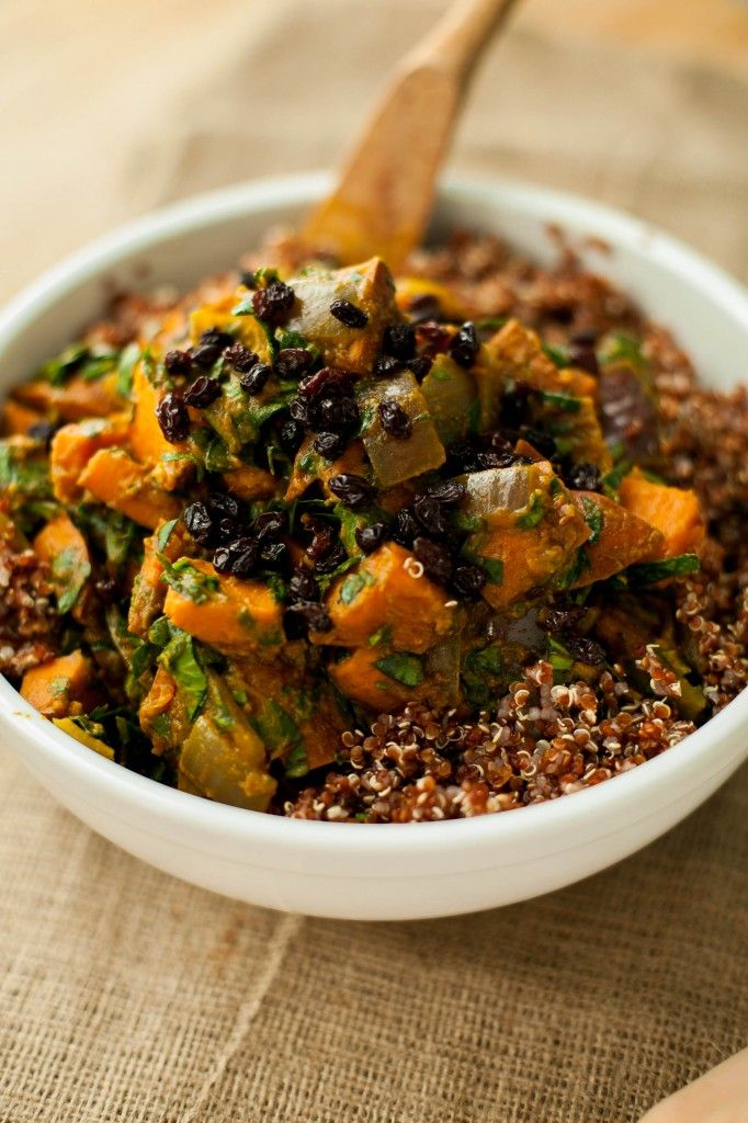 quinoa patate douce curry