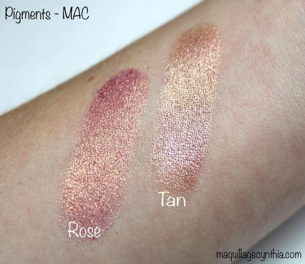 Pigment rose / tan MAC