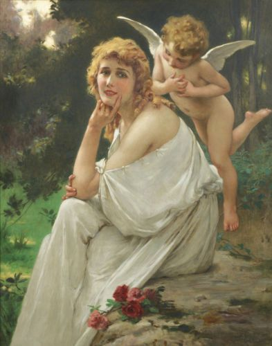 Cupid And Psyche Famous Paintings