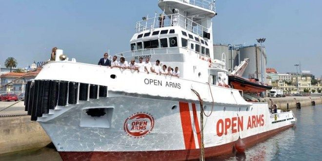Italia inmoviliza barco español Open Arms por promover inmigración ilegal