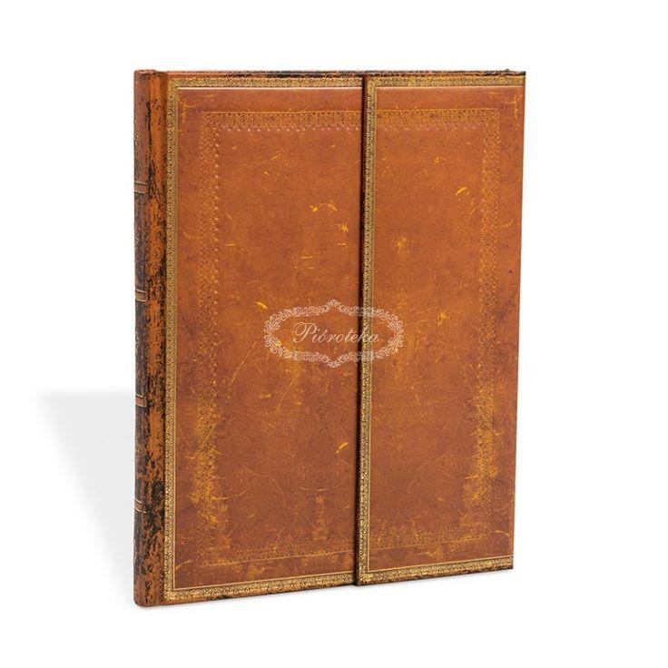 Notatnik PAPERBLANKS Handtooled Wrap ULTRA gładki (PB4401) - NOTATNIKI PAPERBLANKS - Pióroteka