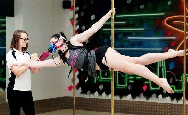 Learning the science of pole dancing