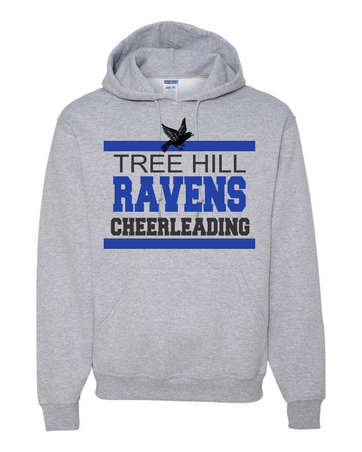 A personal favorite from my Etsy shop https://www.etsy.com/listing/269608832/one-tree-hill-fans-ravens-cheerleading