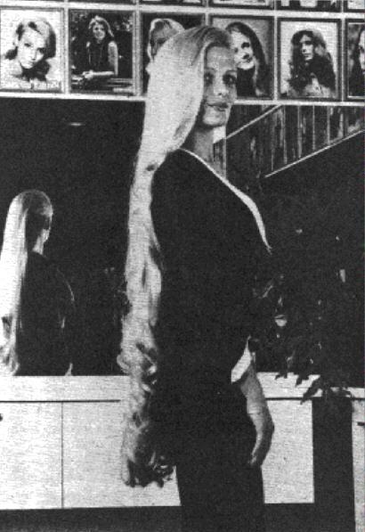 Debra Jo Fondren 1978  ph in 2019  Long hair styles Beautiful long hair Really short hair