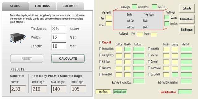 Best 25 concrete calculator ideas on pinterest concrete for Slab foundation cost calculator