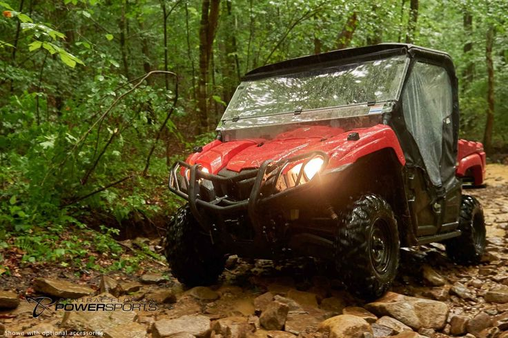 New 2017 Yamaha Viking ATVs For Sale in Florida. 2017 Yamaha Viking, With true three person seating, the enhanced Viking sets a new standard in comfort and convenience with a smooth, quiet and supremely capable ride. Torquey 700-Class Engine High Volume Intake Responsive and Reliable Ultramatic Transmission On-Command® 4WD Comfortable Three Seat Cabin Extensive Cargo Capacity Come to Central Florida PowerSports, your favorite New and Used Yamaha Motorcycle Dealerin the Orlando and…