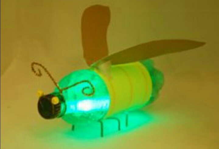 Prepping with kids? Add a glowstick to a decorated soda bottle for a firefly!