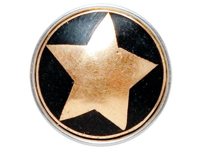 Noosa chunk Pure pentagram gold bestel je online bij Jewelzenmore.nl