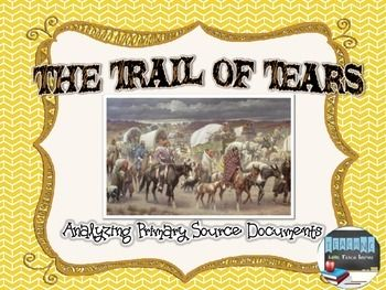 The Trail of Tears 1820 – 1845 Unit Study & Lapbook