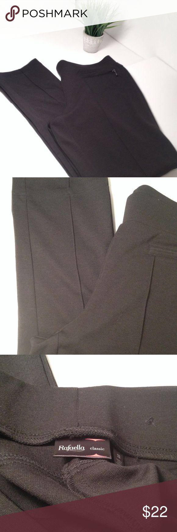 Rafaella Pants Rafaella Pants. Size 10 and composition is a polyester, rayon and spandex blend. Rafaella Pants Skinny