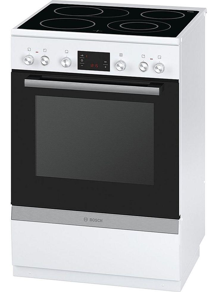 Bosch HCA764320V spis med upp till 8 uppvärmningsalternativ med energisnål glaskeramikhäll som gör det lätt att laga mat och som är lätt att rengöra. I energiklass A för effektiv stekning och bakning.