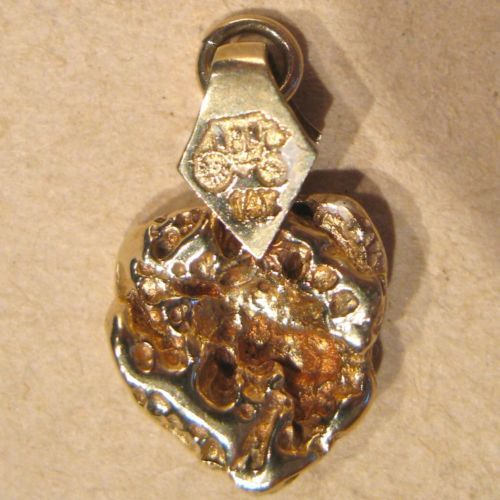 Gold-Nugget-Style-Pendant-2-8-Grams-Wells-Fargo-Stagecoach ...
