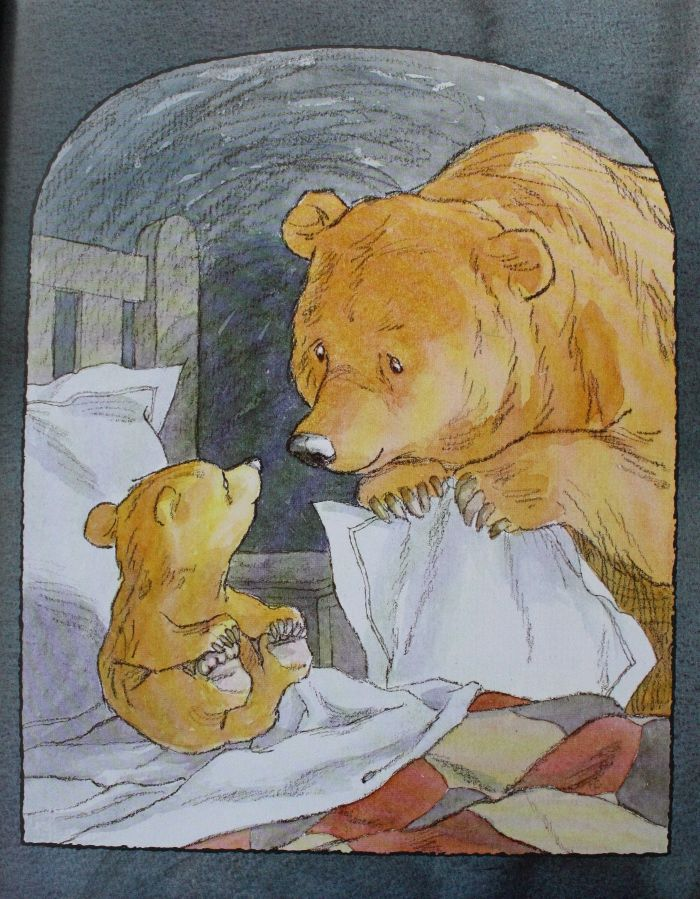 Barbara Firth - Can't You Sleep, Little Bear? It has a place above my bed since i was 6years old <3