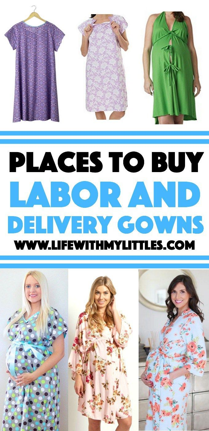 87f25be5435 8 Places to Buy Cute Labor and Delivery Gowns