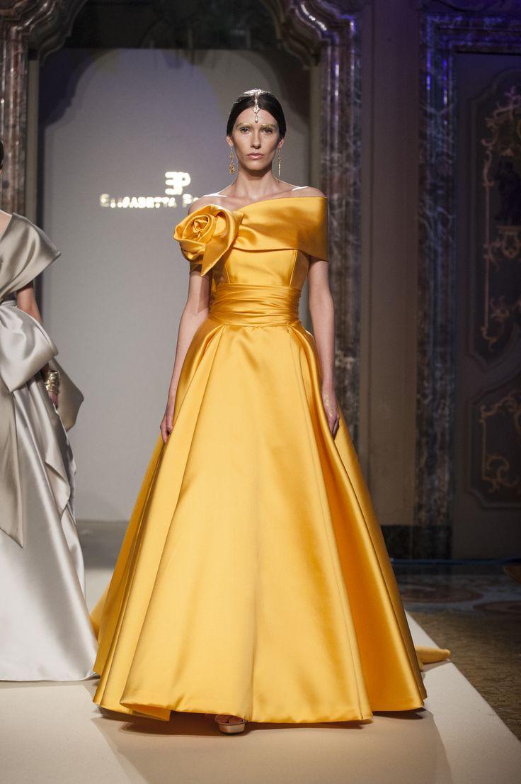 Presentazione sfilata Elisabetta Polignano - collezione sposa 2016