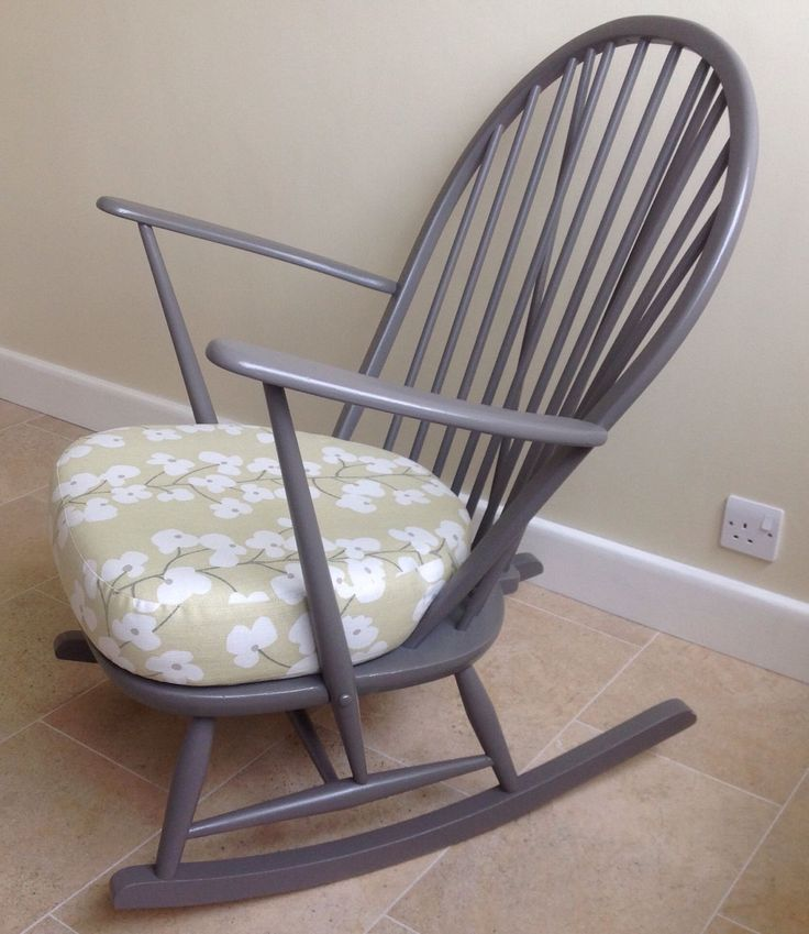 Ercol Rocking Chair With Cushion - Excellent Condition in Home, Furniture & DIY, Furniture, Chairs | eBay