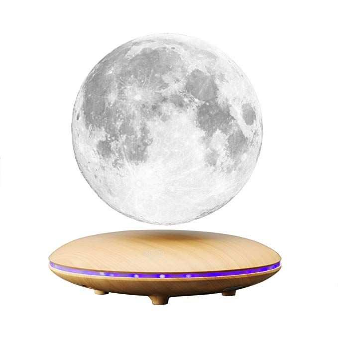Aoxin Moon Lamp 3d Printing Magnetic Levitation Moon Light Lamps With 360 Auto Rotating And 4 Working Light Modes For Moon Light Lamp Lamp Light Levitation